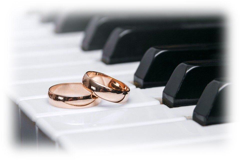 Pianist bruiloft trouwerij huwelijk ceremonie
