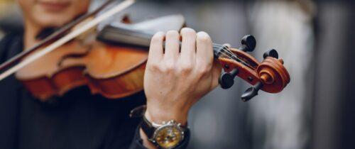 Pianist begeleid violist